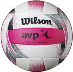 Wilson žoga za odbojko Avp II Replica Beach, bela/roza