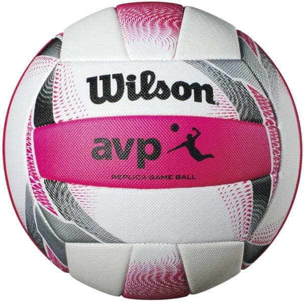 Wilson Avp II Replica Beach White/Pink Volleyball