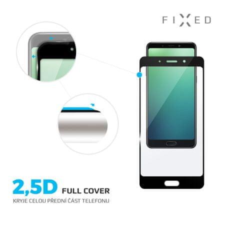 Fixed zaščitno steklo za Nokia 7, črno
