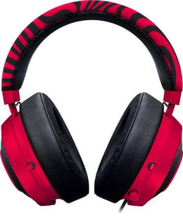 Kraken Pro V2 Neon Red - Oval - PewDiePie fejhallgató (RZ04-02050800-R3M1 aa29b7d7df