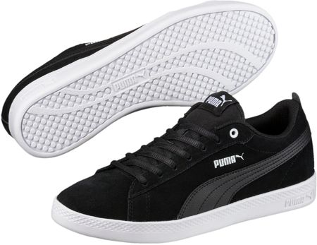 Puma Smash Wns V2 SD Black Black 37,5
