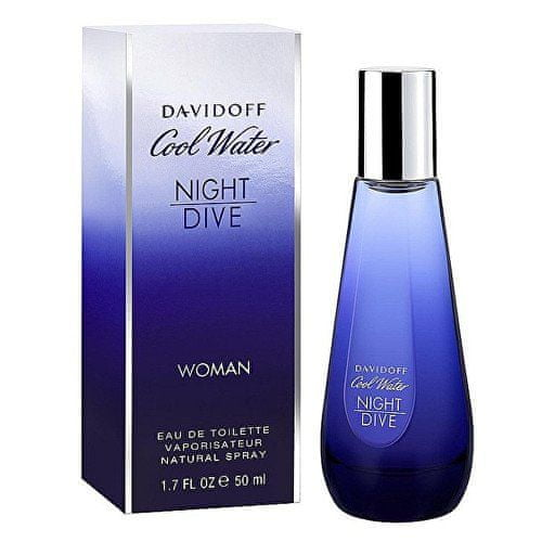 Davidoff Cool Water Night Dive For Women - EDT 80 ml