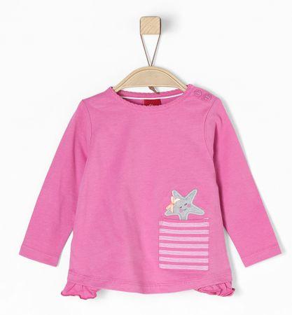 s.Oliver T-shirt dziewczęcy 74 różowy