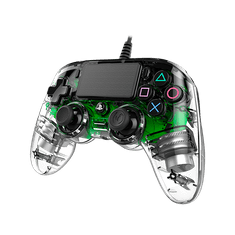 Nacon Wired Compact Controller / PS4, průhledný zelený (ps4hwnaconwicccgreen)