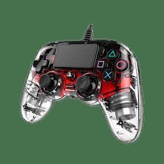 Nacon igralni plošček za PS4, svetlo rdeč