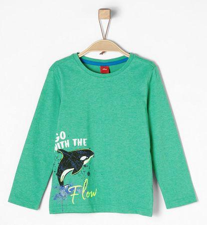 s.Oliver T-shirt chłopięcy 104 - 110 zielony