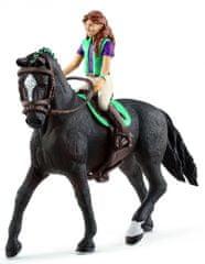 Schleich figurka Lisa z hanowerskim wałachem 42413