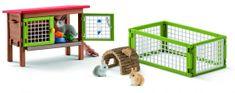 Schleich Set králikárňa so zvieratkami a príslušenstvom 42420