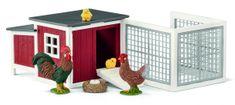 Schleich kokoši in piščančki z dodatki 42421
