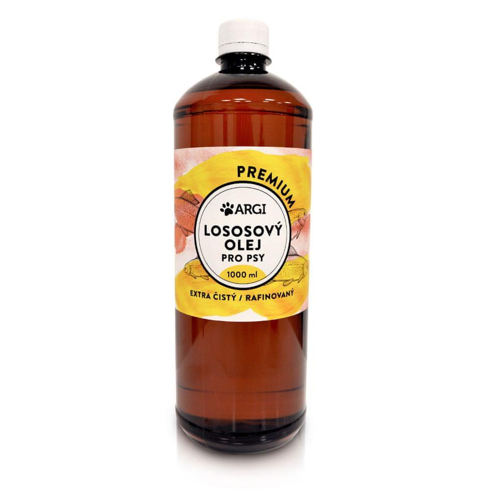 Argi Lososový olej 1000 ml PREMIUM
