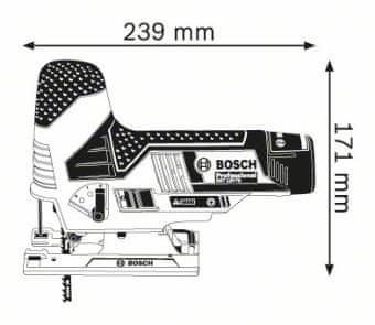 BOSCH Professional vbodna žaga GST 12V-70 (06015A1001)