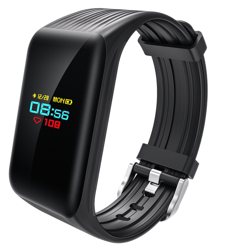 CUBE1 Smart band DC28 Plus, černý - použité