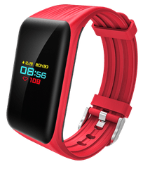 CUBE1 Smart band DC28 Plus, červený