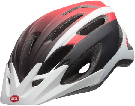 Bell kask rowerowy Crest Mat White/Red/Black 54-61 cm