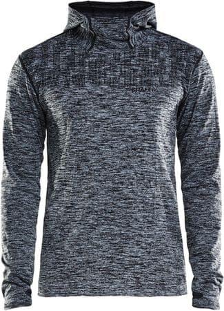 Craft bluza męska Core 2.0 Hood ciemnoszara M