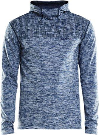 Craft bluza męska Core 2.0 Hood niebieska L