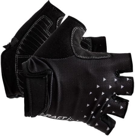 Craft kolesarske rokavice Go, črne, 8