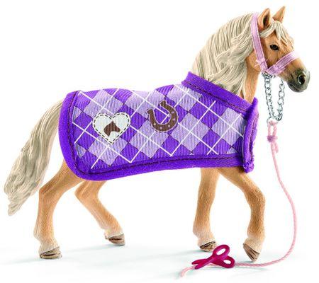 Schleich Set andaluský kůň a módní doplňky 42431