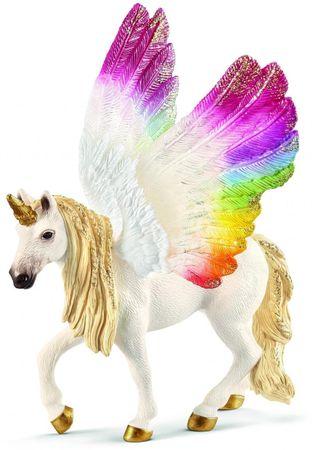 Schleich mavrični Unicorn s krili 70576