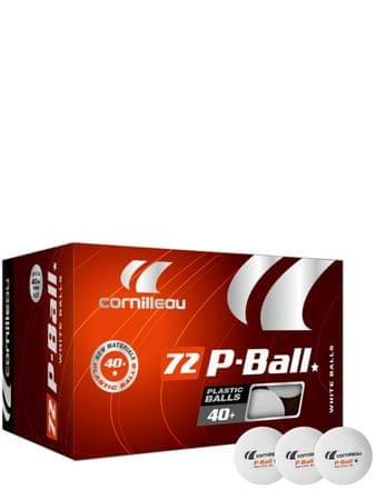 Cornilleau plastične žogice P-BALL, 72 kosov