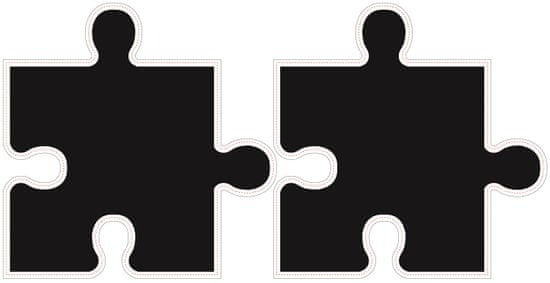 Walplus Samolepiaca tabuľa na stenu, puzzle
