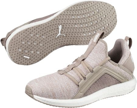 Puma Mega NRGY Knit Wn S Rock Ridge Whit 38,5