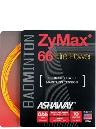 Ashaway badminton struna Zymax 66 Fire - set