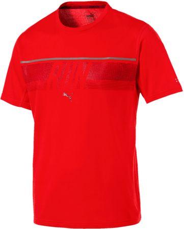 Puma moška majica Run Tee Flame Scarlet, S