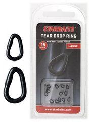 Starbaits Kroužky Slza Tear Drop Ring 15 ks