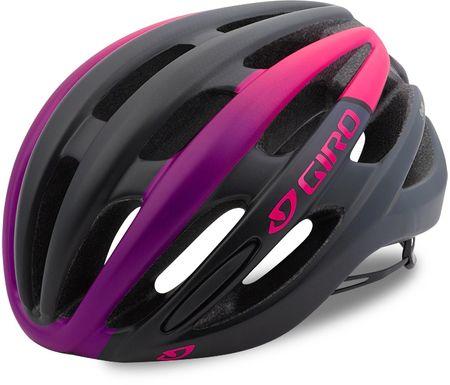 Giro Saga Mat Bright Pink/Black M (55-59 cm)