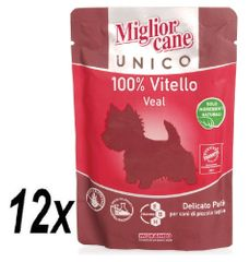 Miglior Cane Unico kapsička telecí 12 x 100g