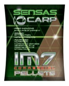 Sensas Pelety IM7 Extrudes Green Garlic Betain 700 g mini