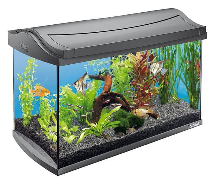 Tetra AquaArt akvárium set LED antracit 60l