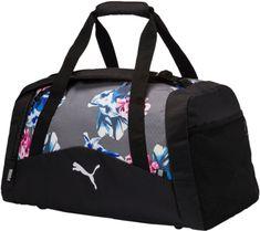 Puma Fund. Sports Bag Graphic M Steel Gray Fl