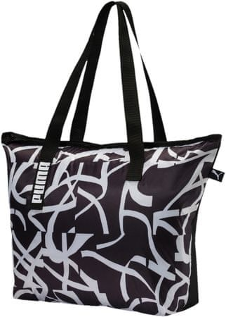Puma torba Core Active Shopper Black Whit