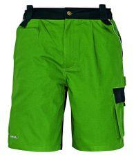 Stanmore Bavlnené montérkové šortky zelená 50