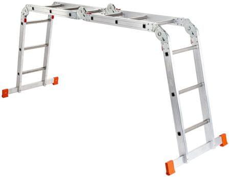 Venbos zložljiva lestev 3x4