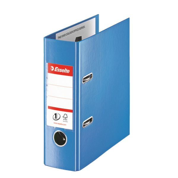 Pořadač pákový Esselte No.1 POWER VIVIDA A5 7,5 cm modrý