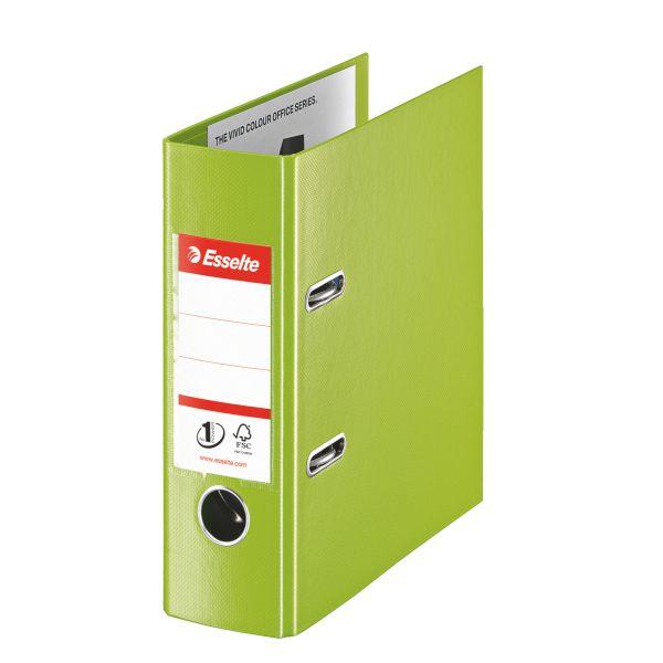 Pořadač pákový Esselte No.1 POWER VIVIDA A5 7,5 cm zelený