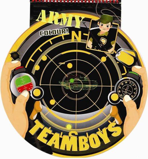TEAMBOYS Army Colour! – hledáček radaru