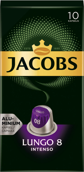 Jacobs Lungo Intenso, 10x 10 kapslí