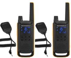 Motorola radijska postaja Walkie Talkie T82 Extreme RSM, rumeno-črna