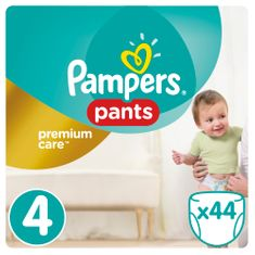 Pampers hlačne plenice Premium Pants 4 Maxi, 44 kos
