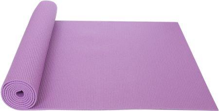 Yate mata do ćwiczeń Yoga mat pink + pokrowiec