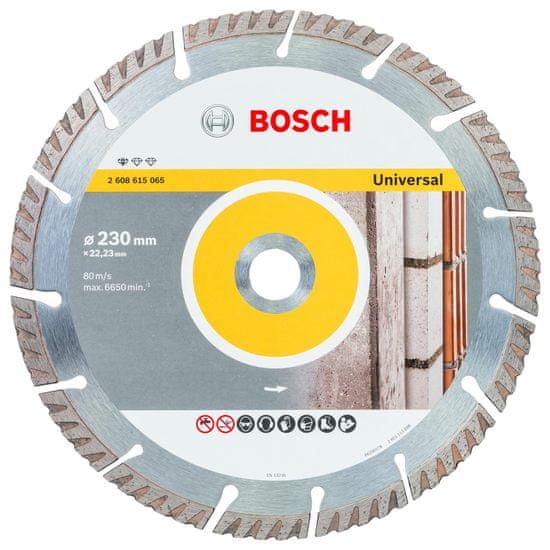 Bosch Diamantový deliaci kotúč Standard for Universal 230 × 22,23 mm