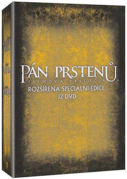 Pán prstenů - Komplet trilogie (Rozšířená speciální edice 12DVD) - DVD