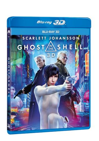 Ghost in the Shell 3D+2D (2 disky)   - Blu-ray