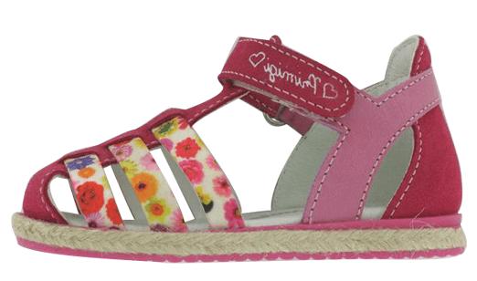 Primigi dívčí sandály 21 červená f81a2dd0b73