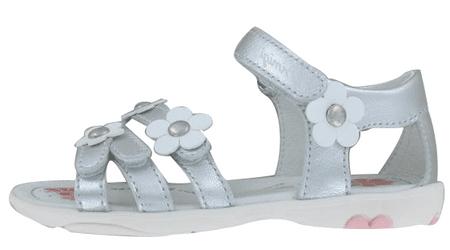 Primigi sandały dziewczęce 30 srebrny