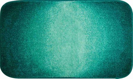 GRUND czeski dywanik łazienkowy, MOON 70 x 120 cm, ciemny turkus